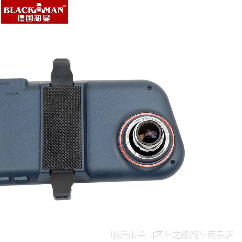 德国柏曼M70双录后视镜行车记录仪倒车影像高清夜视1080停车监控