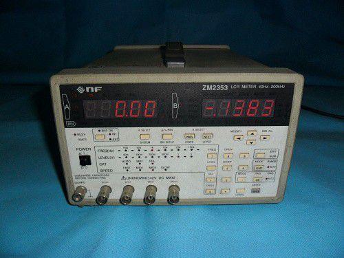 日本NF ZM2354 LCR测试仪