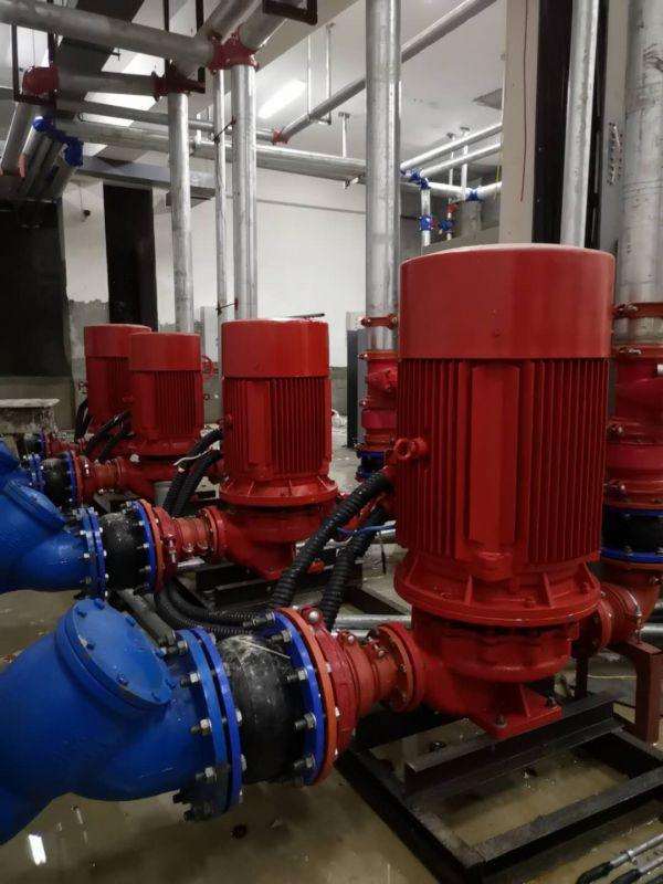 消防泵喷淋泵消火栓泵无负压生活供水不锈钢多级离心泵