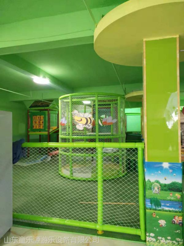 益智儿童乐园 威海大型淘气堡室内游乐园 儿童游乐设备