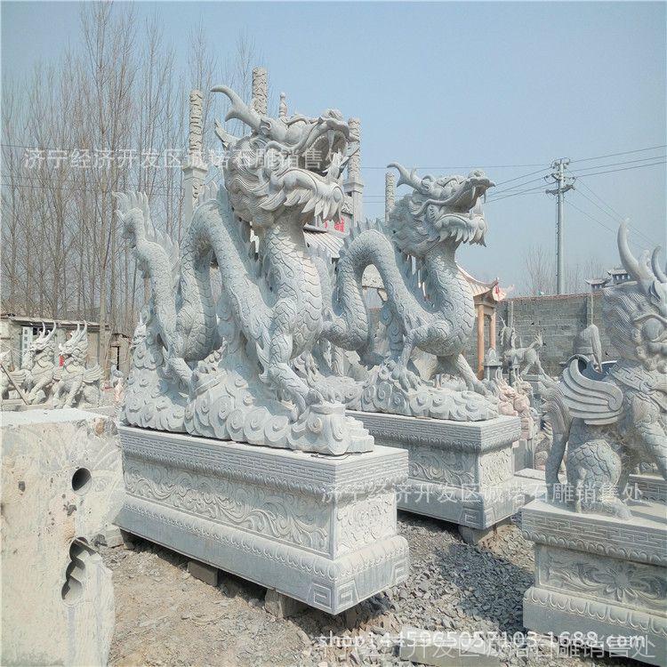 天青石石雕动物 公园摆放各种大理石梅花鹿 花岗岩抽象石材雕塑