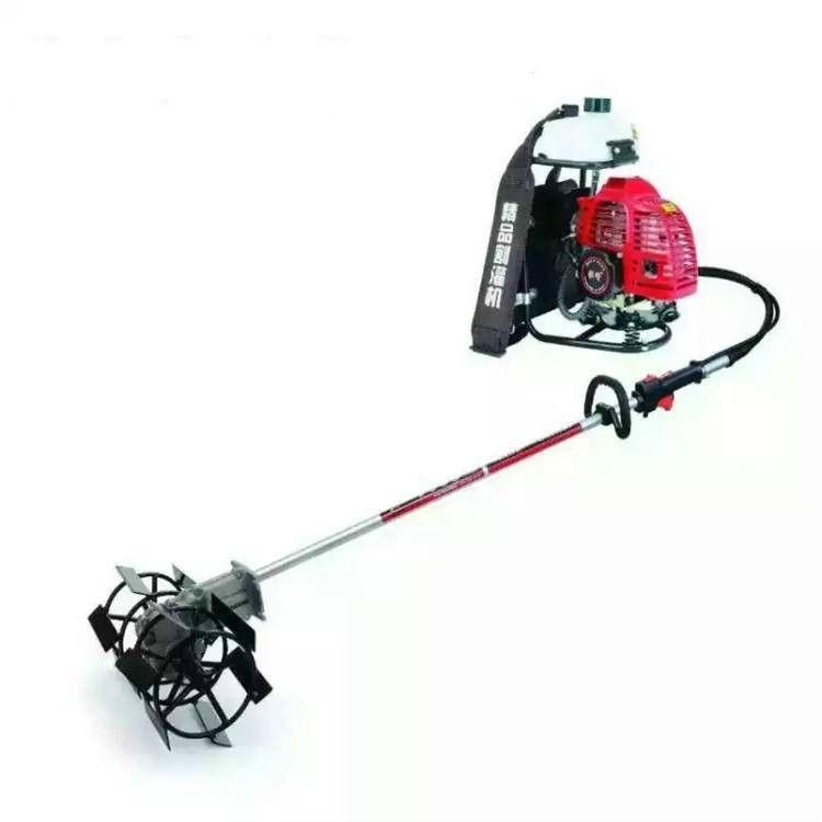 高效四冲程收割机 多用途绿化锄草机 耐用背负式旋耕机