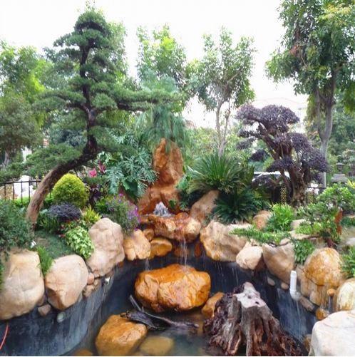 诸暨市鹅卵石 江南园林风景石 河岸庭院驳岸石 小区草坪石