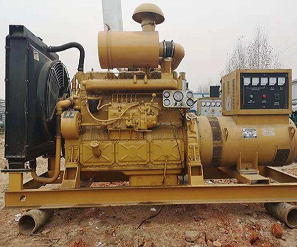 200KW二手柴油发电机组处理上柴旧发电机组销售转卖九成新