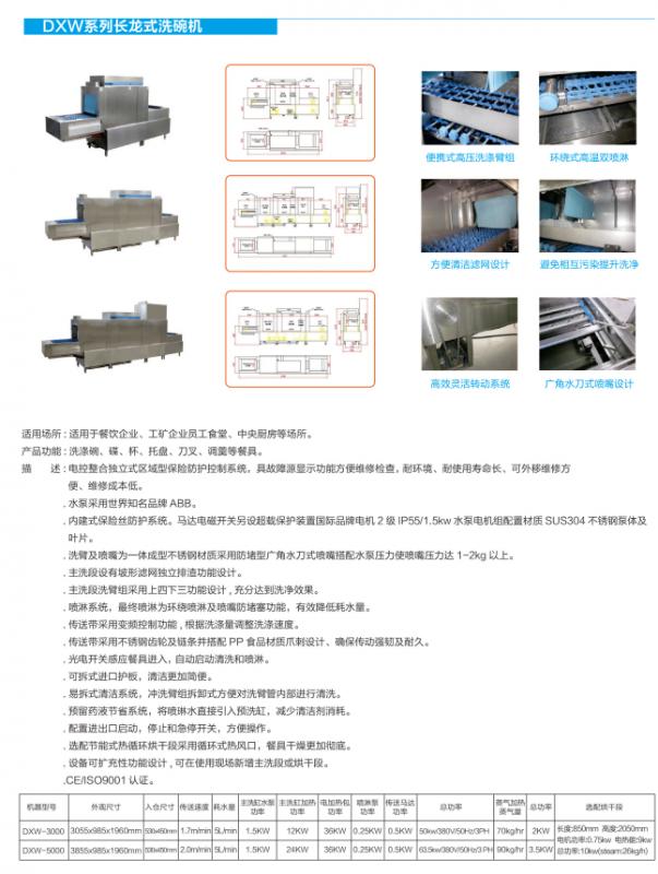 DXW-3000/5000洗碗机视频