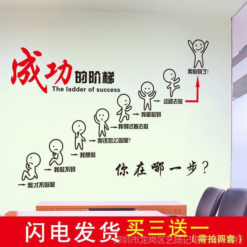 小学学生展示小学寝室墙纸布置办公室努力墙贴宿舍激励栏图片