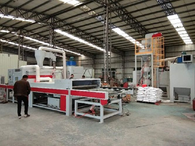 环保达标喷砂_清洗_吹干一体式大型自动喷砂机定制厂家