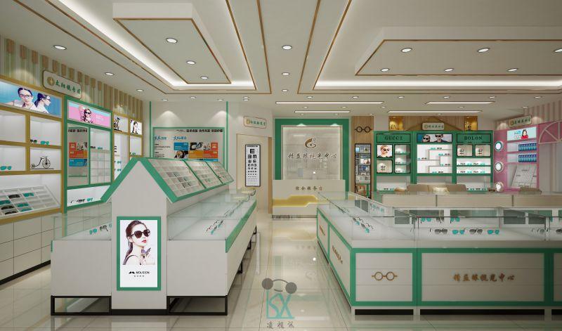云南眼镜店装修设计*要素:注重持久性和耐用型