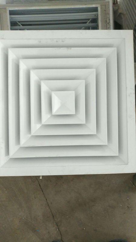 百叶风口、方形散流器