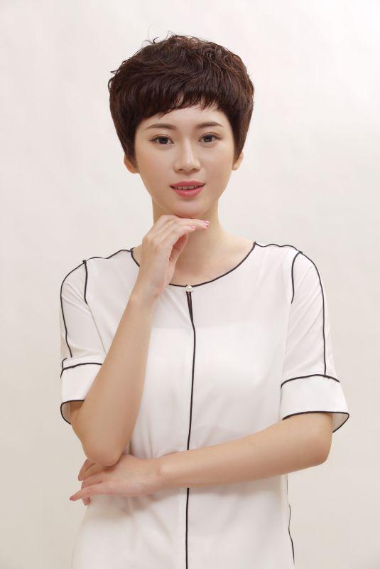 广东凯维斯凯诺尔丝真人假发广州高档假发医疗无菌头发