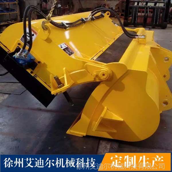 厂家专业生产高效率路面清扫器—铲车扫地机 装载机封闭清扫器
