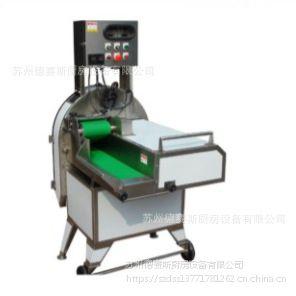 DQC-602台湾台乙竹笋薯片莲藕木薯切正圆片机水果加工设备整机进口切菜机