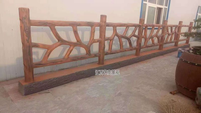 1.8米仿树藤栏杆护栏