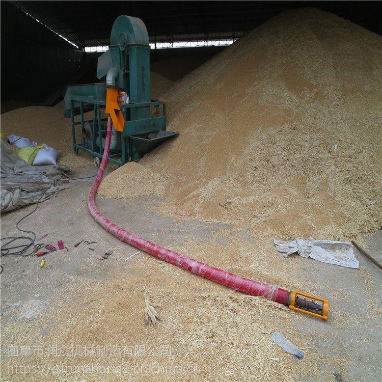 现货特卖软管荞麦吸粮机 轻松不费劲农场收粮机 380v动力吸粮机
