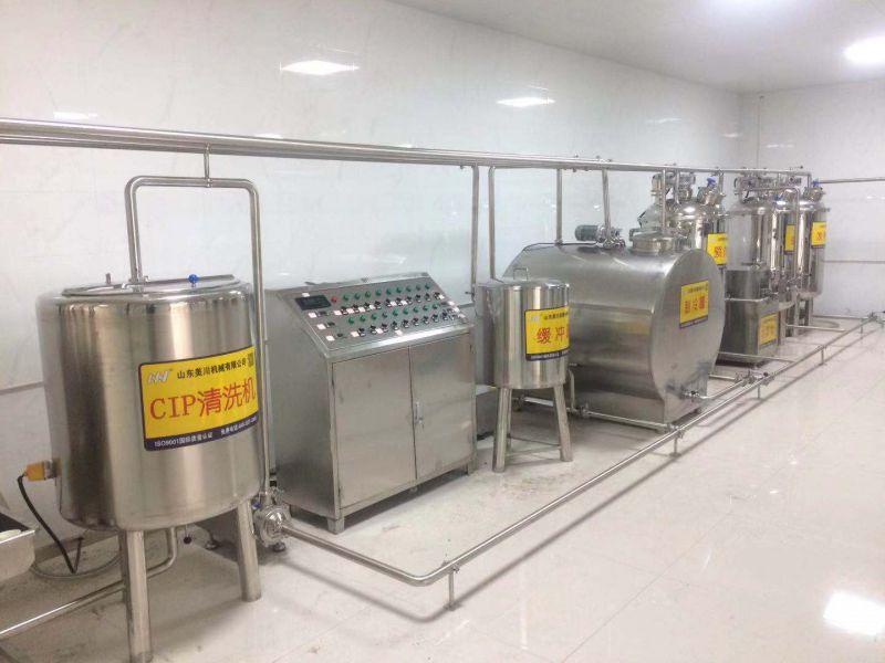 牛奶生产线 200升小型巴氏奶酸奶生产线