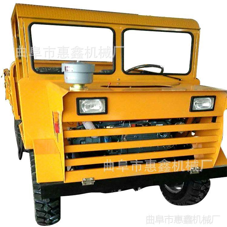 柴油四驱自转运输拖拉机 四驱拉木犲柴油四轮车 操作简单的四不像