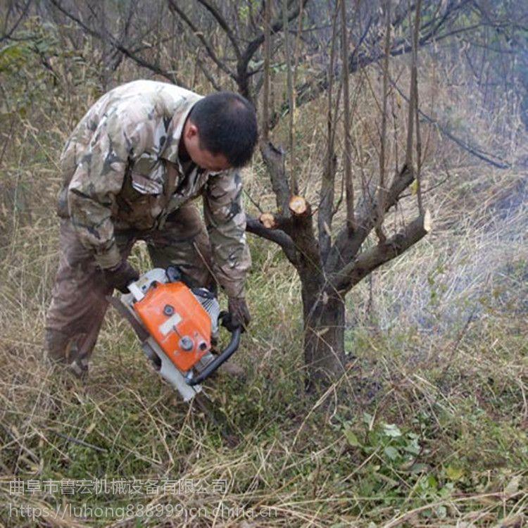 现货供应汽油带土球刨树机 苗圃果园断根挖树机