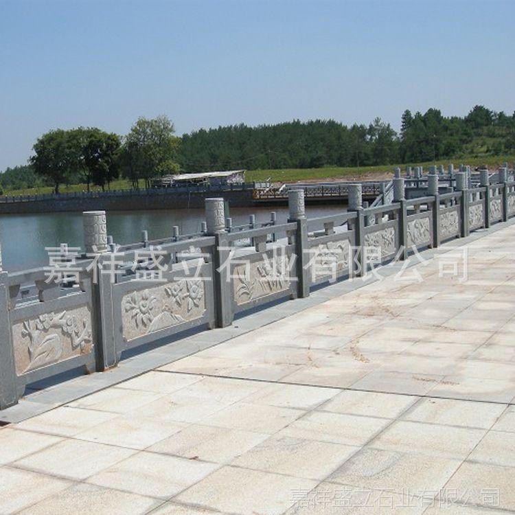 嘉祥大理石雕刻栏杆供应商 路桥水库寺庙古建栏板 质量保证