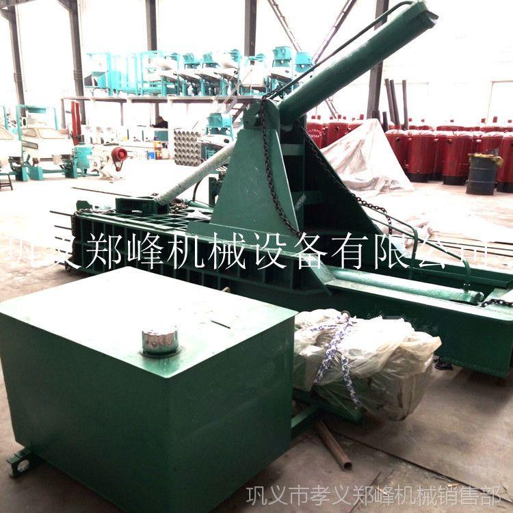 现货卧式液压打包机 金属废料打包机 半自动金属打包成型机