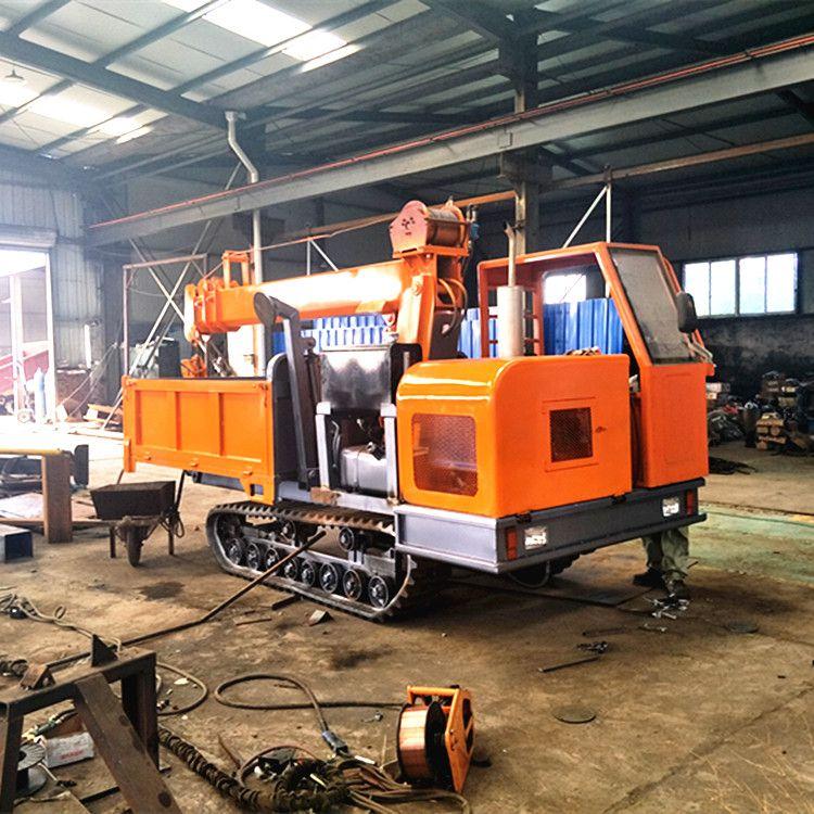 农用履带式运输车履带式运输车随车吊 农林专用履带式运输吊