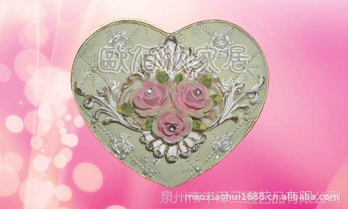 Fine jewelry box收纳盒小额批发厂价直销高档树脂工艺品商务礼品