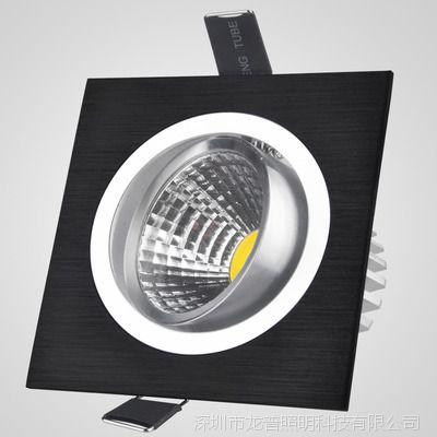 10W15W20W调光格栅射灯COB旋转射灯control4可控硅调光系统射灯