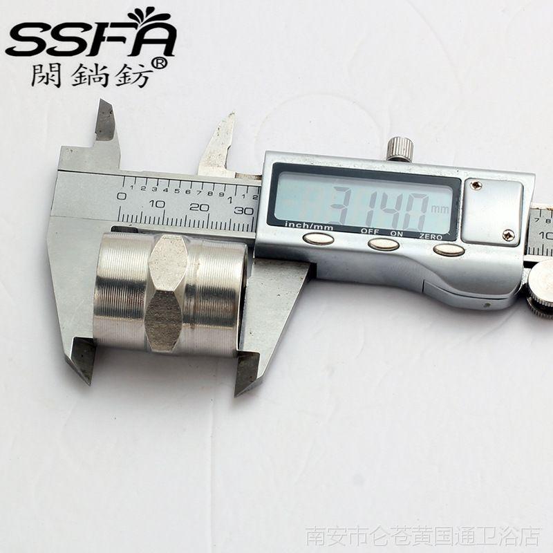 工厂店 厂家直销批发 4分不锈钢管箍 4分直通 1/2 加厚不锈钢直接