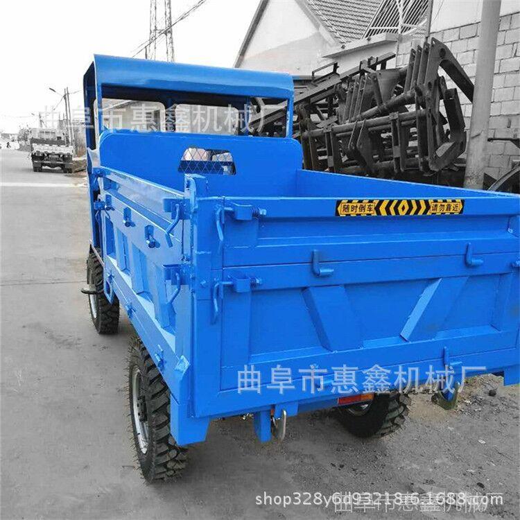 减震好建筑工程四轮车 拉沙拉石子四轮运输车 小型四不像农用机械