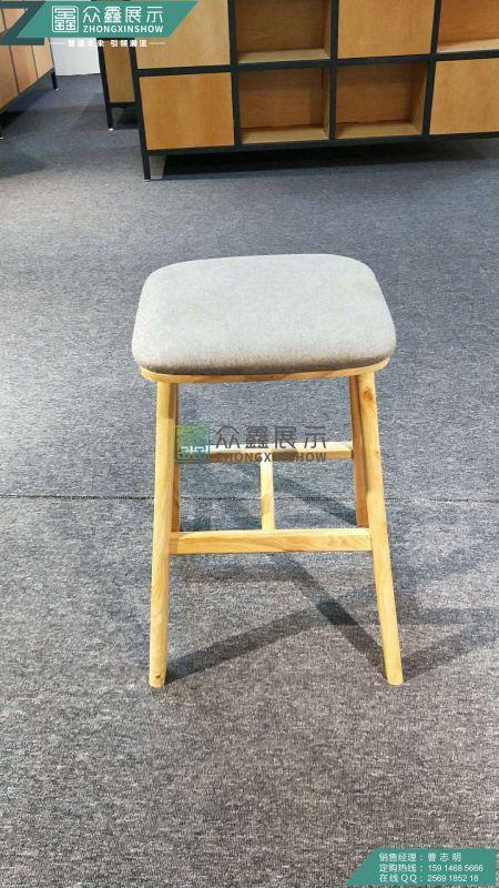华为3.0版布面洽谈凳制作