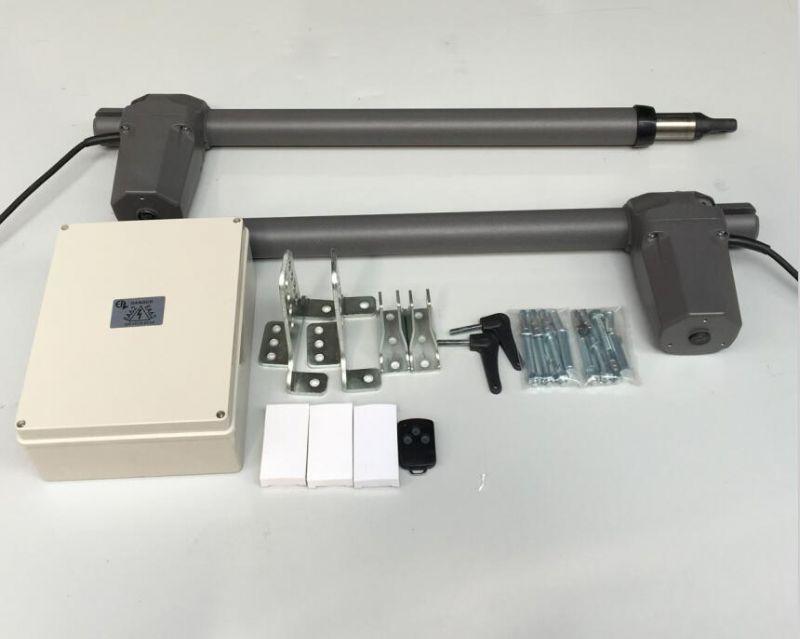 法国进口EA直臂式开门机 庭院高档遥控八字对开电动门电机