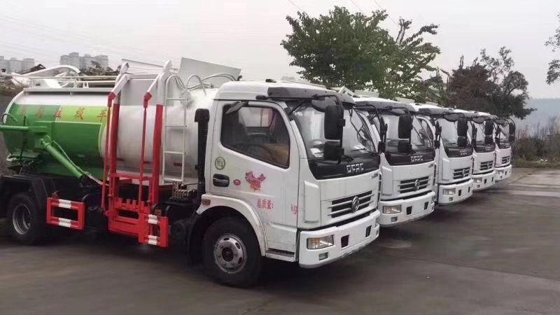 运输泔水的餐厨垃圾车哪有卖多少钱