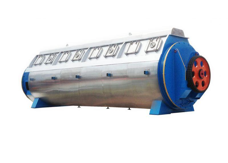 產能200噸/24H 肉骨粉設備流水化生產線 采用雙葉片干燥
