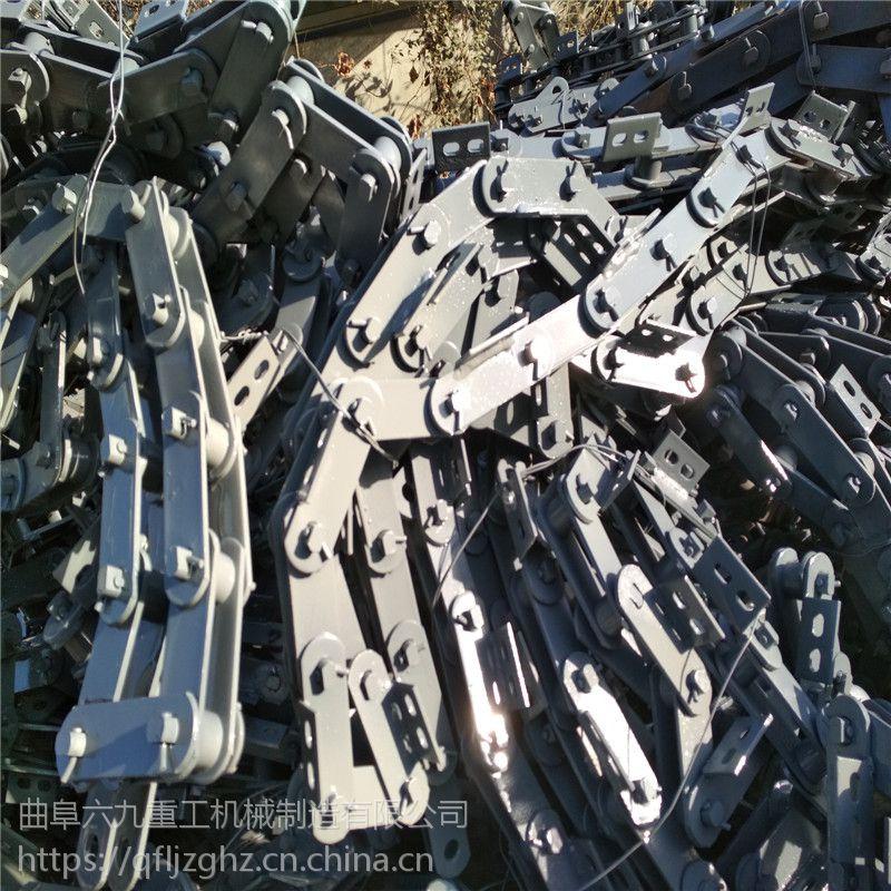 袋装物料板链输送机耐用 板式给料机吉林