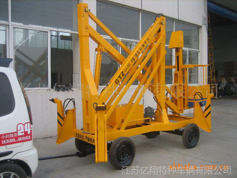 供应价格便宜GTZ人工牵引 插电升降平台 GKT旋转系列升降台