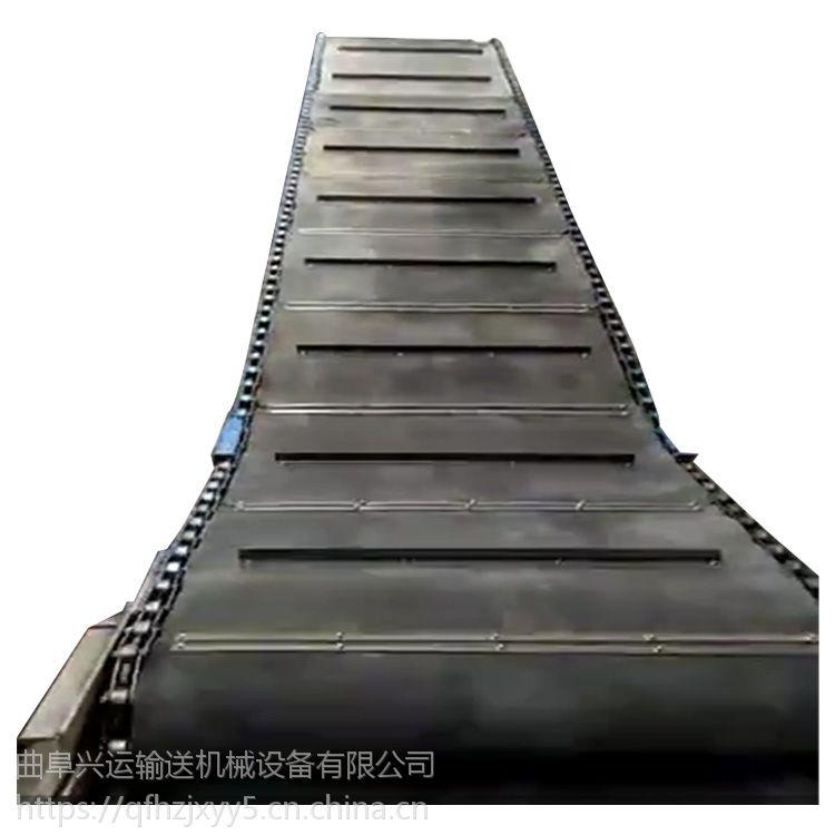 玻璃制品链板输送机厂家直销定制 板式输送机口碑厂家郑州