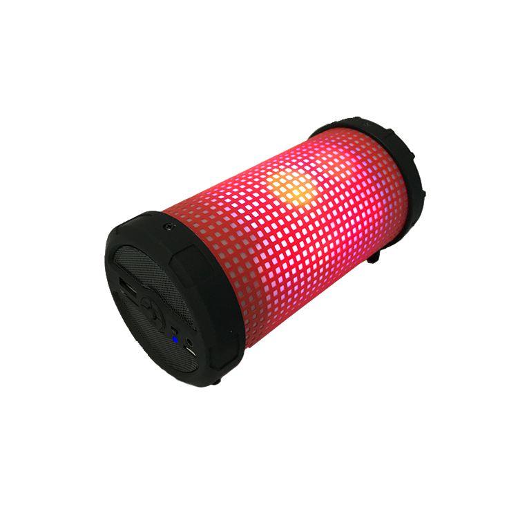 LED七彩光圆筒音箱