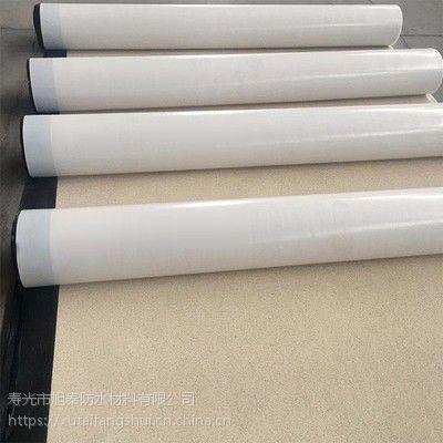 山东厂家直销高分子系列胶膜防水卷材--带沙自粘胶膜防水材料 层