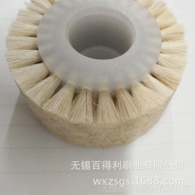 羊毛圆盘毛刷 专业清扫除尘圆盘毛刷 抛光圆盘毛刷 厂家直销