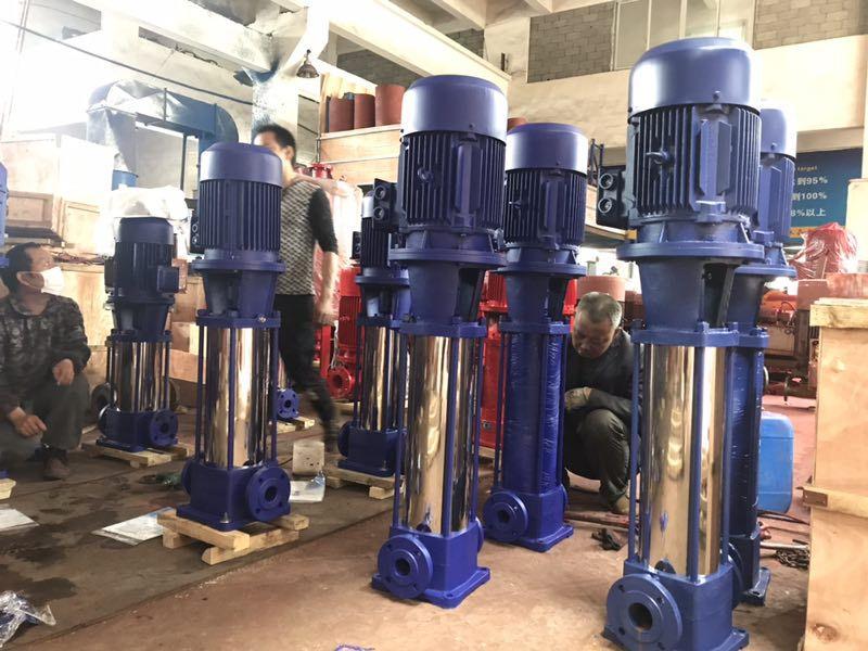多级泵消防泵多级离心泵管道增压泵高压水泵