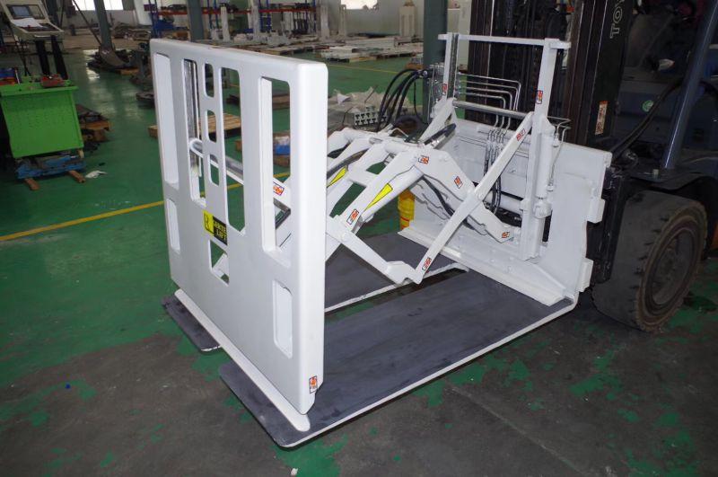 2吨电动叉车推拉器 进货柜叉车改装推拉器 快装型滑板可留型推