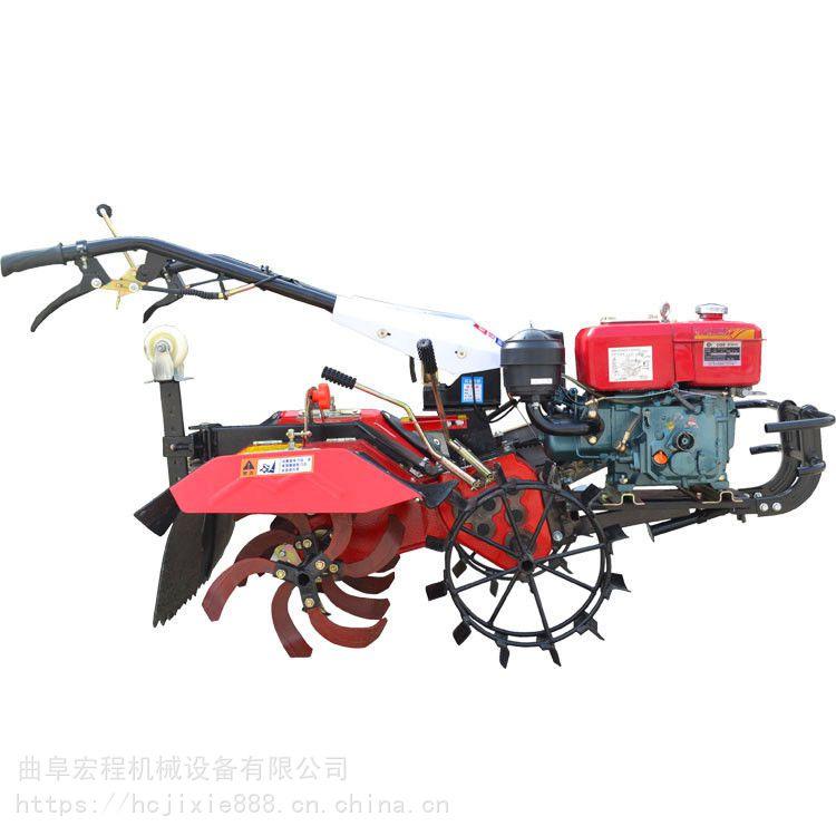 手扶拖拉机旋耕机 果园菜地林地多功能旋耕机 柴油旋地机