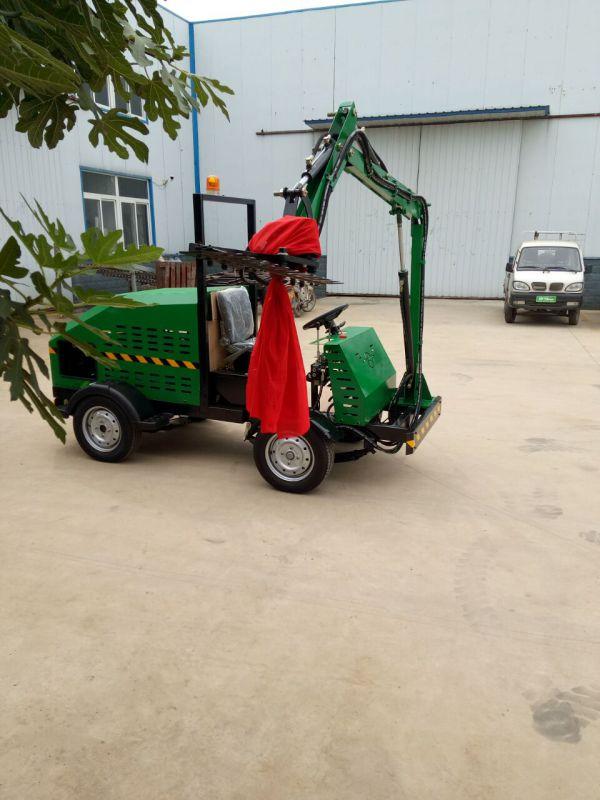 园林修剪机厂家;城市绿化带绿篱机