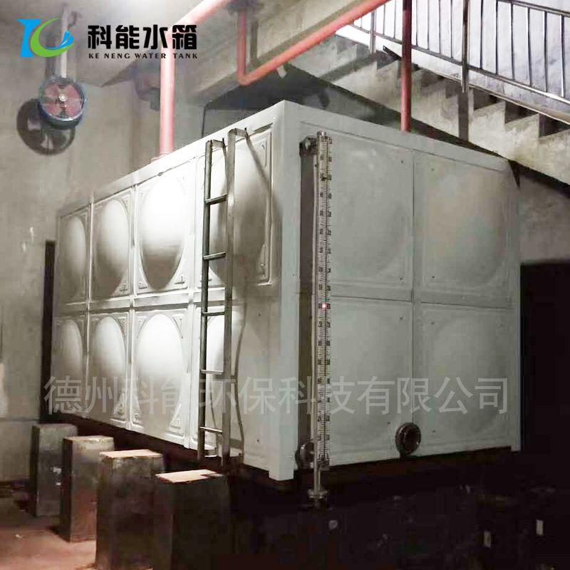 304不锈钢水箱 方形消防高位水箱 不锈钢生活饮用水处理设备