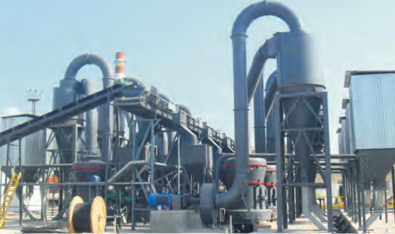 上海世邦生产石灰石磨粉机