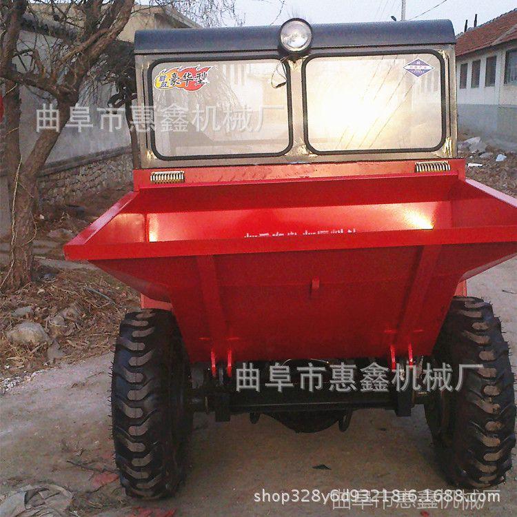 工地砂石运输翻斗车销售部 性能稳定的翻斗车 简单易操作的翻斗车