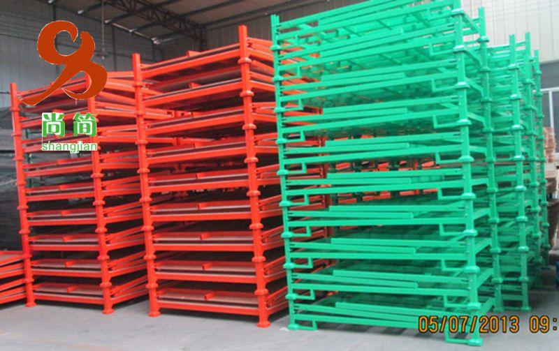 堆垛架 折叠推垛架 堆垛架厂家生产视频