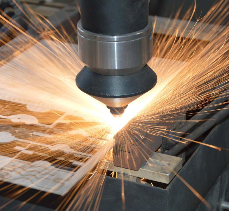 金属薄板冷板激光切割加工