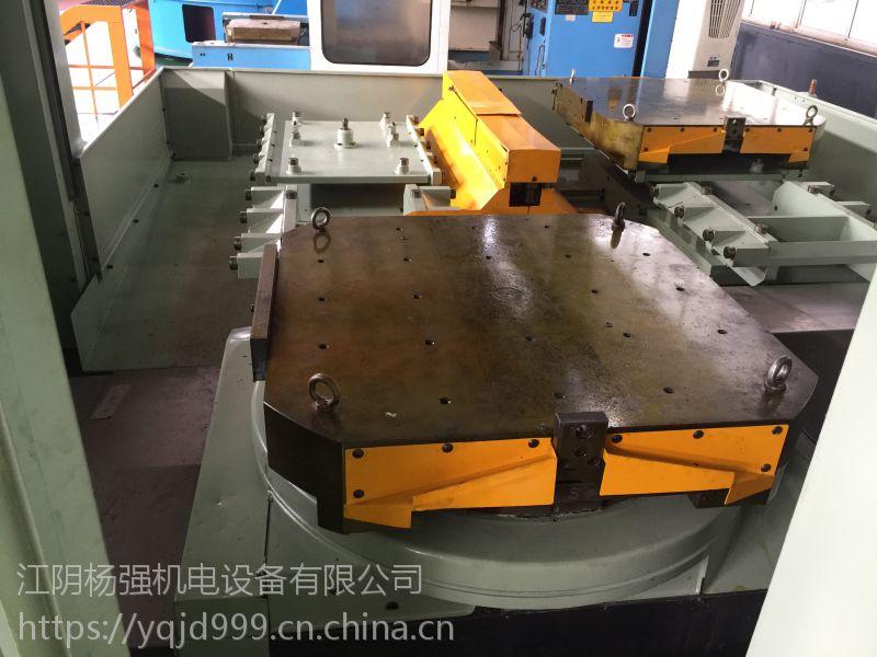 出售三菱1米的双工位卧式加工中心,现货可试机