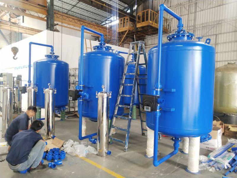 供应齐齐哈尔讷河市A3碳钢地下水过滤器 除铁锰碳钢过滤器 广旗品牌
