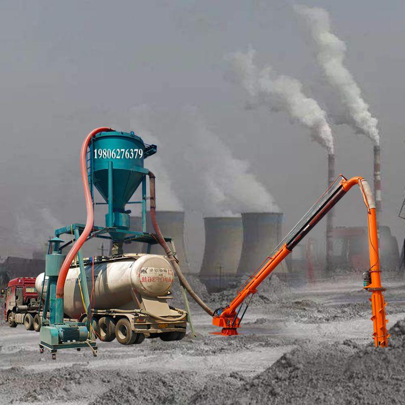 机械臂式码头卸船机粉煤灰气力输送机水泥粉卸船机气力吸灰机